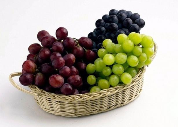 Виноград содержит калий