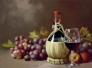 Вино получает легкий приятный цветочный запах