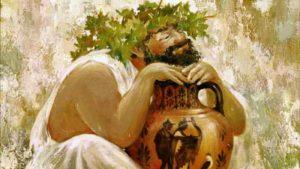 Одна легенда гласит, что виноград создал бог Солнца и богиня Земли